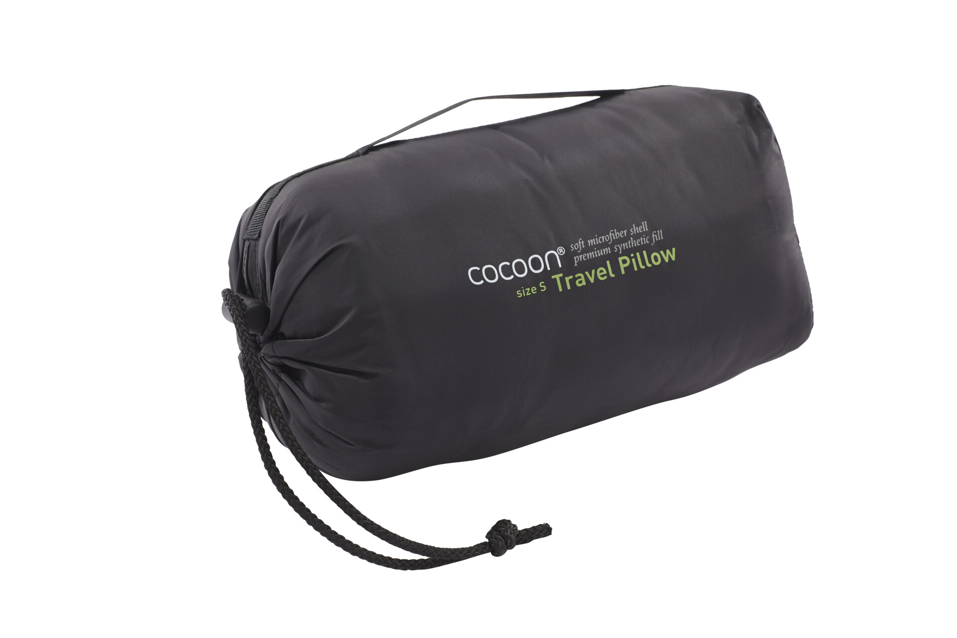 Cocoon Cocoon Cocoon Travel Pillow Nylon/Microfiber Small Charcoal/Smoke Grå (2019) f49afb